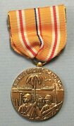 United States Of America Asiatic Pacific Campaign 1941-1945 Brass 33mm Medal