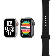 Apple Watch Nike+ Series 5 - 40mm/44mm - Two Colors - Black Sport Band - Gps/lte