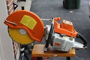 .stihl Ts 760-510 16 Inch W / H 2-0 New Blade Low Hours All Original