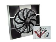 Spal 30102049 Fan And Old Air Shroud 21h X 22-1/2w X 4d, Harness And Adj. Sensor