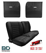 Sport 55 Bench Seat And Flat Door Panel Kit For 1955-1959 Chevy Trucks - Tmi
