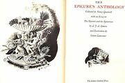 The Epicureand039s Anthology 1936 Ltd Edition 114 By Nancy Quennell