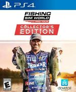 Fishing Sim World Pro Tour Collectors Edition For Playstation 4 [new Video Game]