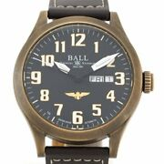 Ball Watch Engineer Nm2186c-l1j-bk Limited Automatic Black Bronze Leather Menand039s