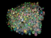 100natural Opal Briolette Drilled Bead Welo Power Wholesale Necklace Gemstone