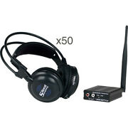 Vocopro Silent Symphony - Rave Wireless Audio Broadcast And Headphones System With