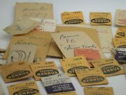 Watchmakers Large Asst Of Original Benrus Material – Vintage Tools - 15mf1