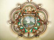 Historical Associationand039s Dazzling White House Christmas Ornament 2005 New In Box