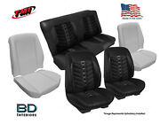 Sport Vxr Custom Seat Upholstery And Foam 1968 1969 Chevy Chevelle Convertibleand039s