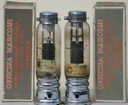 Mt31 Tube Pair Nos Nib Marconi Vintage Stereo Amplifier War Time 1940and039s Valve S