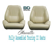 1964 Chevelle And El Camino Touring Ii Front Bucket Seats Assembled