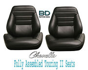 1965 Chevelle And El Camino Touring Ii Front Bucket Seats Assembled
