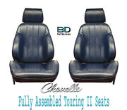 1966 Chevelle And El Camino Touring Ii Front Bucket Seats Assembled