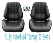 1968 Chevelle And El Camino Touring Ii Front Bucket Seats Assembled
