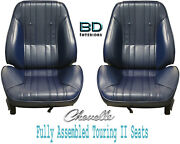 1969 Chevelle And El Camino Touring Ii Front Bucket Seats Assembled
