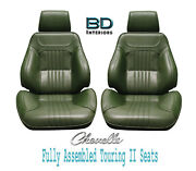 1971-72 Chevelle And El Camino Touring Ii Front Bucket Seats Assembled