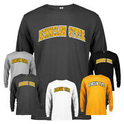 Kennesaw State University Ksu Owls Classic Arched Text Long Sleeve T-shirt Tee