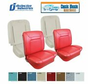 1964 Impala Ss Front Bucket Seat Upholstery And Foam In Your Choice Of Oem Color