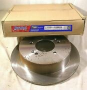 Brake Rotor 31336new Without Plastic Wrap Duralast Has Some Minor Surface Rust