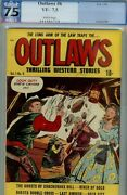 Outlaws 6- Pgx 7.5- Higrade Mcwilliams Art- 1949 Western Stories