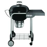 Weber Charcoal Grill 22 Inch Performer Black Built In Thermometer Storage Rack