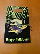 Disney Pins Tinkerbell 3d Halloween Edition Witch New