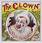 The Clown Outer Cigar Box Label Rare File Sample George Schlegel Archives Circus