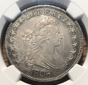 1806 Half Dollar Ngc Xf Details Cleaned