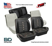 Sport Xr Custom Seat Upholstery And Foam Kit 1964 1965 Chevy Chevelle Convertible