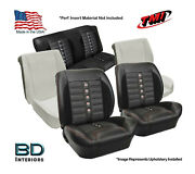 Sport Xr Custom Seat Upholstery And Foam Kit 1964 1965 Chevrolet Chevelle Coupeand039s