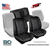 Sport Xr Custom Seat Upholstery And Foam Kit 1970-1972 Chevy Chevelle Convertible