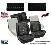 Sport Xr Seat Upholstery, Foam And Front Panel Kit 1964 1965 Chevelle Coupe's