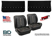 Sport Xr Custom Bucket Seat Upholstery And Panel Kit For 1964 1965 Chevy Chevelle