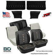 Sport Xr Custom Seat Upholstery Foam And Panel Kit 1964 1965 Chevelle Coupeand039s
