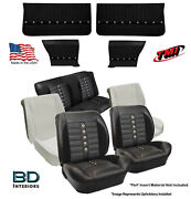 Sport Xr Custom Seat Upholstery, Foam And Panel Kit 1964 1965 Chevelle Coupe's