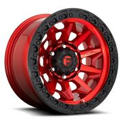 Fuel Covert D695 Rim 18x9 5x150 Offset 1 Gloss Red Quantity Of 4