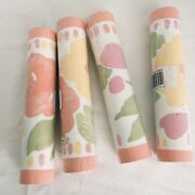 6 Vtg 7 Bed Bath And Beyond Wall Paper Boarder 5 Ft Rolls 30 Ft Total