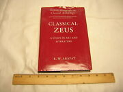 Classical Zeus A Study In Art And Literature By K.w. Arafat
