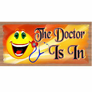 Doctor Wood Signs -the Doctor Is In Gs 1789 - Wood Plaque Doctor Office-gigglest