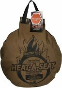 Therm-a-seat Heat-a-seat Insulated Hunting Seat Cushion/pillow - Camo/brown