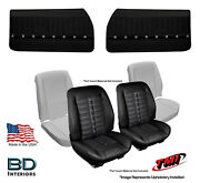 Sport Xr Bucket Seat Upholstery Foam And Panel Kit 1968 Chevrolet Chevelleand039s