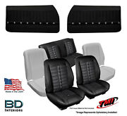 Sport Xr Seat Upholstery, Foam And Panel Kit 1968 Chevrolet Chevelle Coupe's