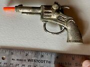Antique 1930andrsquos Vintage Cast Iron Echo Toy Cap Gun Made In The Usa Sold As Is