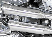 Supertrapp Fatshots 22 Exhaust System Harley Softail 330 Wide Tire/right Sd Drv