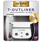 Andis 04521 T-outlinerandreg Replacement Blade - Carbon Steel