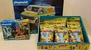 Playmobil Scooby Doo Complete Set Mystery Machine Shaggy Fred Velma Daphne Ghost
