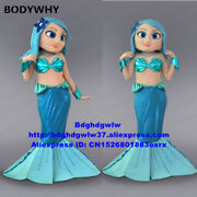 2020 Mermaid Sea Maid Mascot Costume Suits Cosplay Party Game Dress Outfits Ad