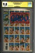 Groo 118 Cgc 9.8 Signed Sergio Aragones Tough Later Issue 1580612001