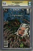 Saga Of The Swamp Thing 30 Cgc 9.8 Ss Signed Totleben Bissette 1276912026