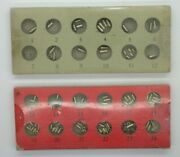 Watchmakers 2 Asst Of Case Tubes – Vintage Tools – 16mf1